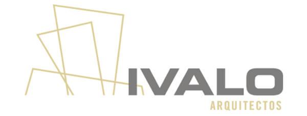 Logo de la empresa Ivalo Arquitectos que colabora con Vortex Coworking