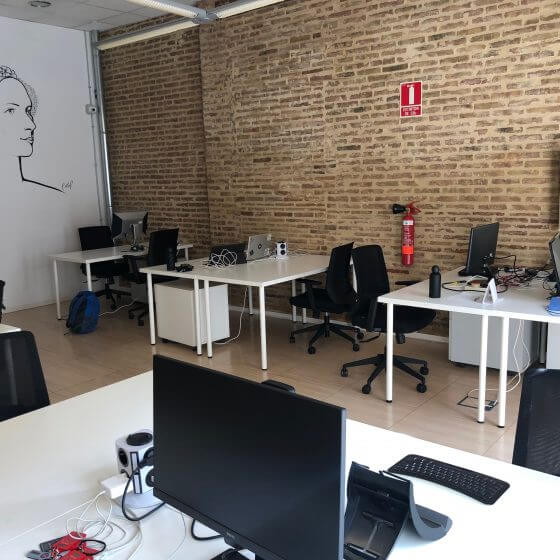 Galería de la zona Focus en Vortex Coworking