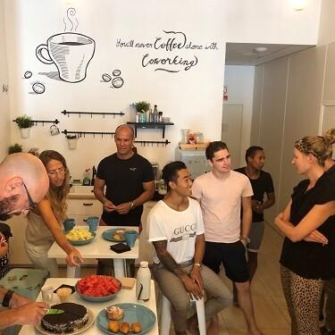 Networking breakfast Vortex Coworking