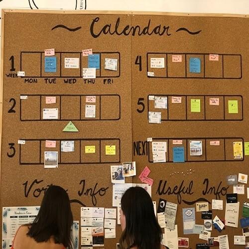 Calendario Actividades Vortex Coworking
